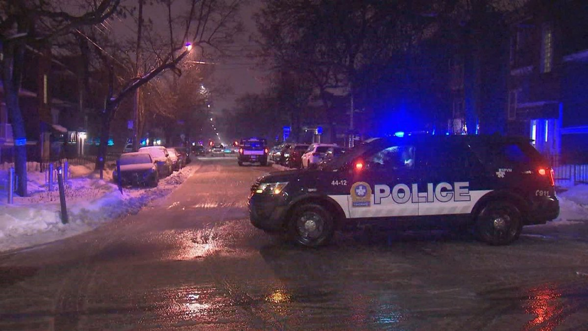 Montreal police responded to a man being shot in the borough of Rosemont–La-Petite-Patrie the night of Sunday, Jan. 26, 2020.