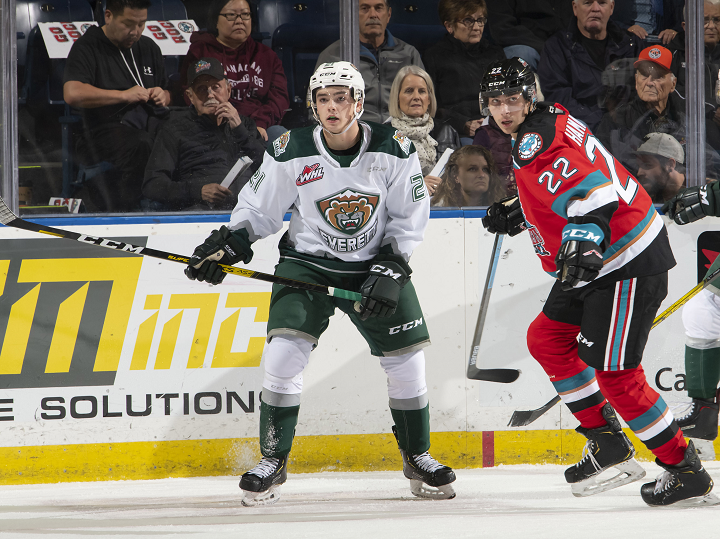 The Kelowna Rockets started a three-game U.S. Division road trip on Friday night with a 3-2 loss against the Everett Silvertips. Kelowna will play back-to-back games in Portland on Saturday and Sunday.