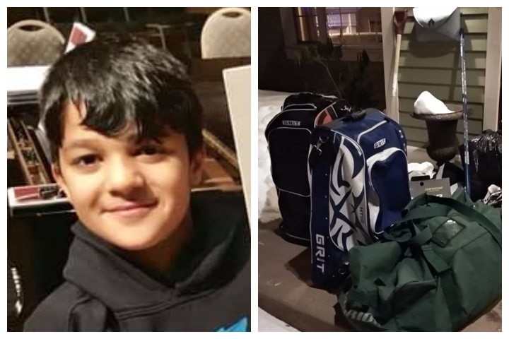 Hockey gear has been pouring in for Yaman Bai, a 10-year-old Syrian refugee in St. John's, N.L.