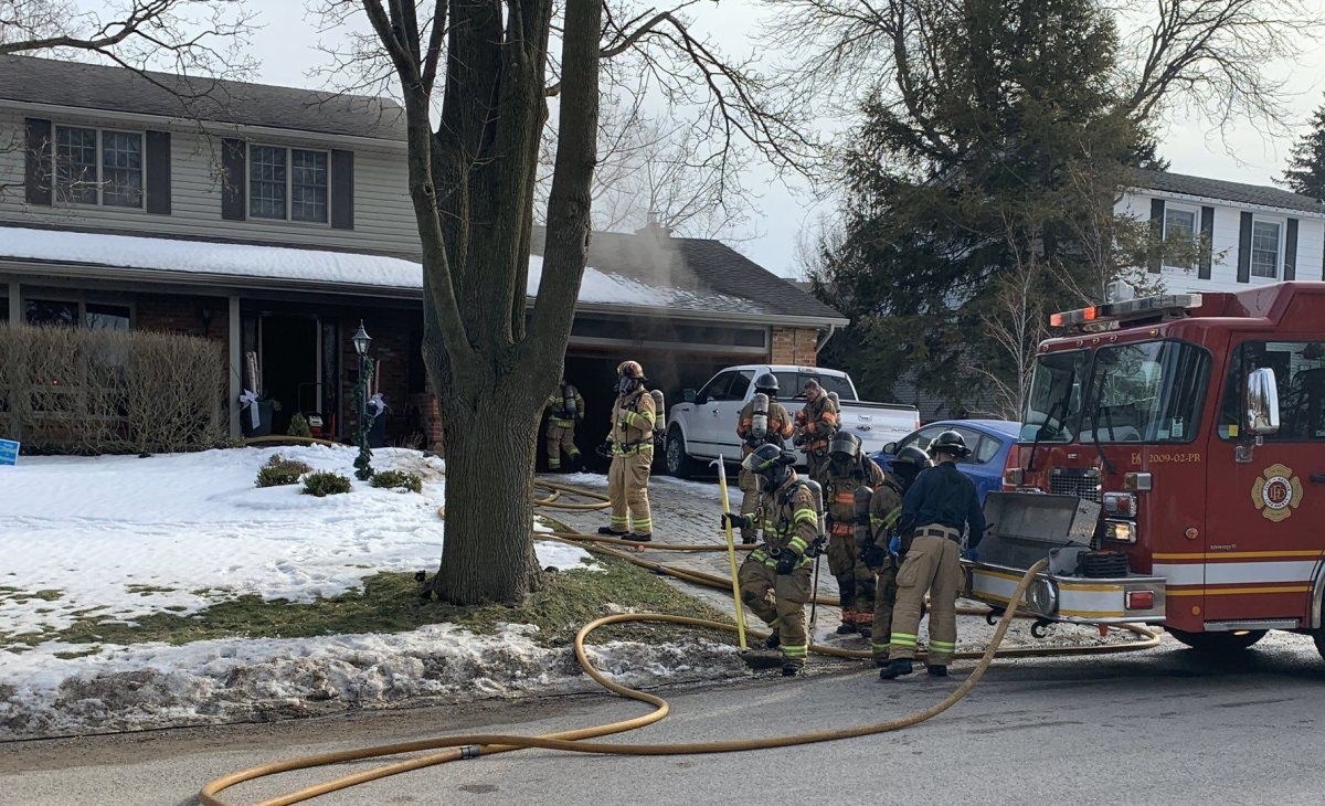 Emergency crews were called to the scene at 190 Wychwood Park around 2:50 p.m. Feb. 24, 2020 for a report of an active structure fire.
