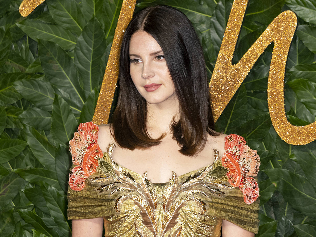 Lana Del Rey attends the 2018 Fashion Awards at Royal Albert Hall, in London, England on Dec. 10, 2018.