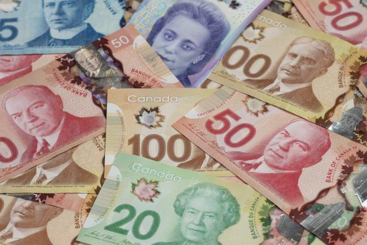 File photo - Canadian money.