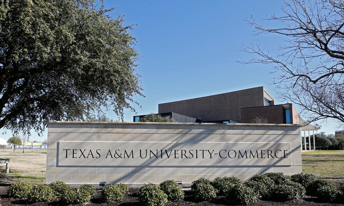 Texas A&M University Commerce in Commerce, Texas 24 January 2020 (Reissued 03 February 2020).