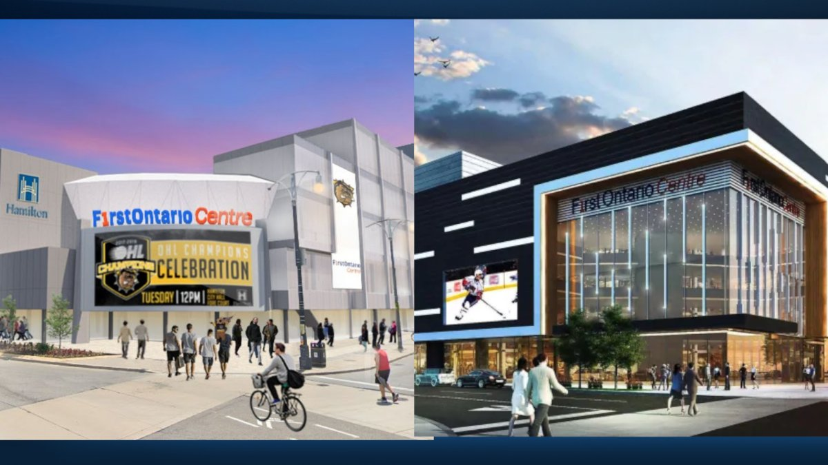 The city is entertaining bids from developers interested in renovating facilities near FirstOntario Centre.