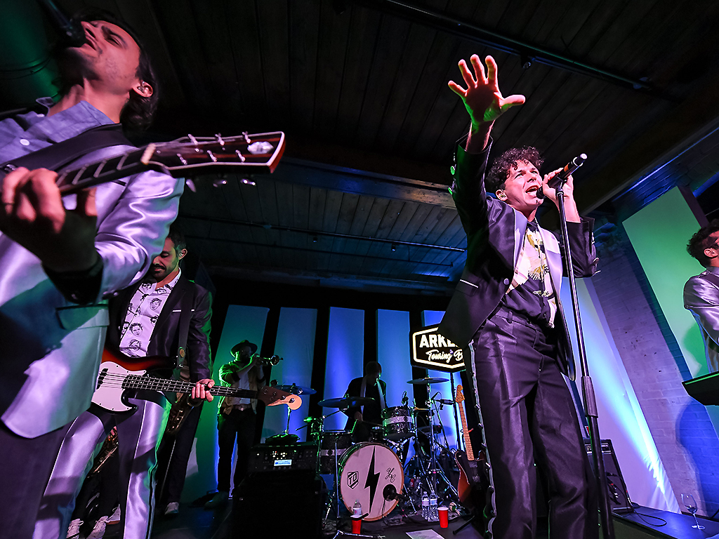 Arkells perform at RBC House on September 7, 2019 in Toronto.