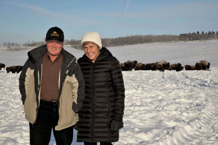 Lakeland College announced Tuesday that it has received a $4-million donation from Armin and Rita Mueller, owners of Canadian Rangeland Bison and Elk.