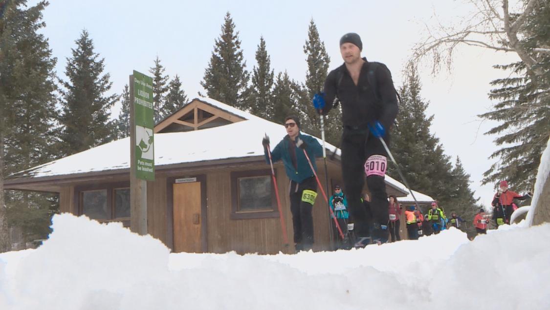 The Canadian Birkie Ski Festival.