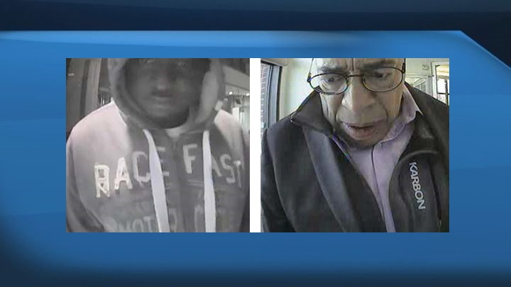 RCMP are asking the public with help identifying two bank fraud suspects.