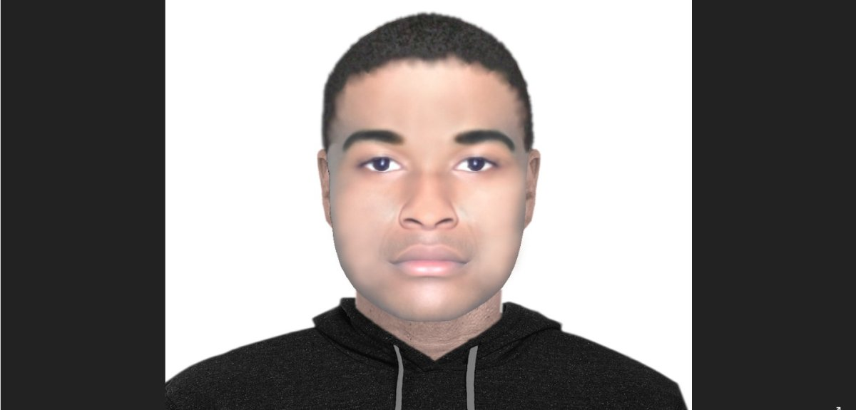 Police in Brantford have released a composite sketch of a suspect allegedly involved in a robbery.