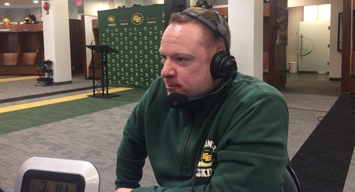 Edmonton Football Team GM Brock Sunderland speaks with 630 CHED on Feb. 11, 2020 after free agency opens.