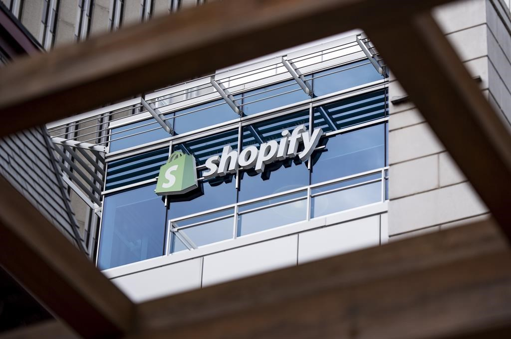 The Ottawa headquarters of Canadian e-commerce company Shopify are pictured on Wednesday, May 29, 2019. Shopify Inc. says the recent outbreak of a novel form of coronavirus has prompted it to cancel its annual merchants conference.