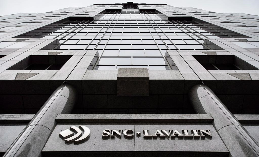 The headquarters of SNC Lavalin is seen Thursday, November 6, 2014 in Montreal.