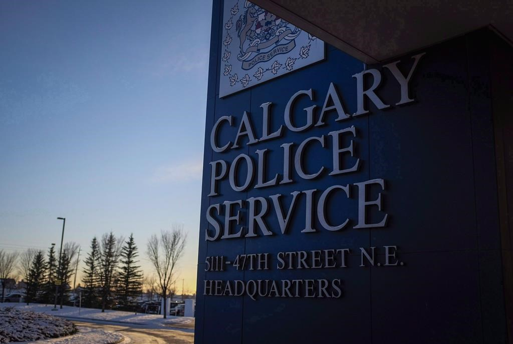 The Calgary Police Service's headquarters building is shown in Calgary, Wednesday, Dec. 7, 2016.