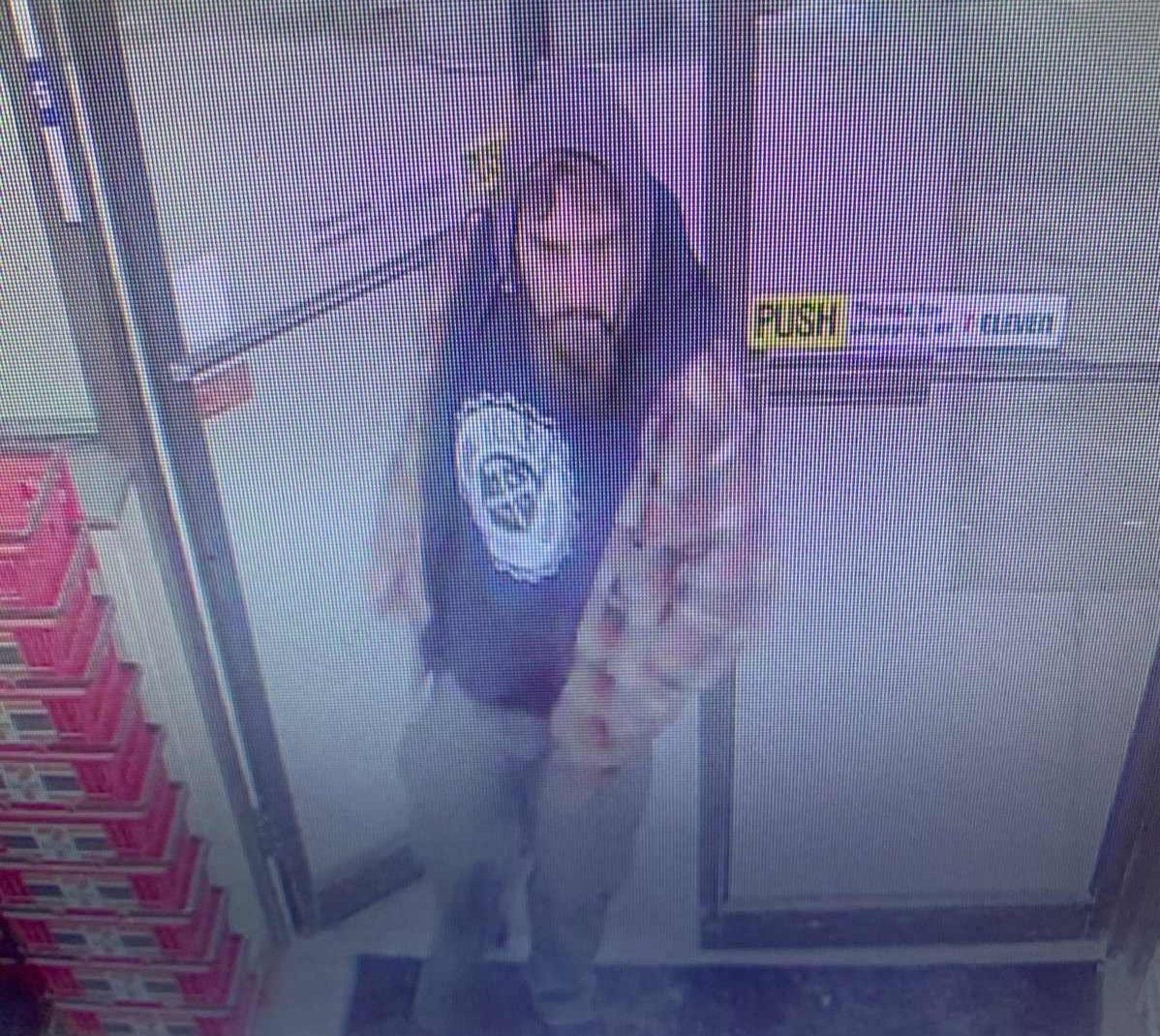 Stratford police released an image of the suspect.