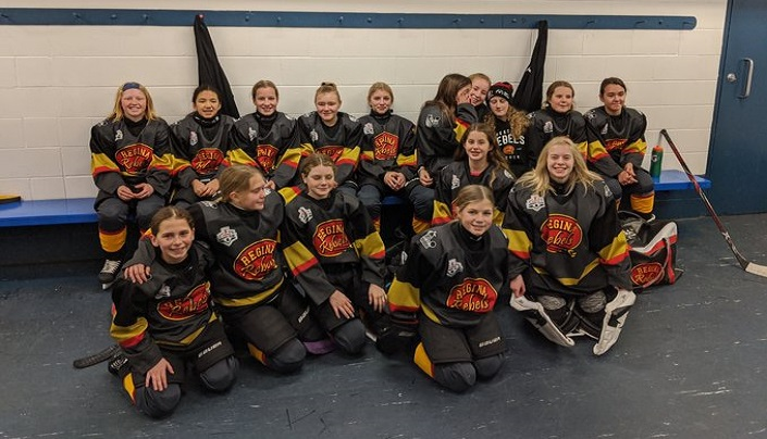 The Regina Peewee B Rebels are one of the top three finalists for this year's Chevrolet Good Deeds Cup.