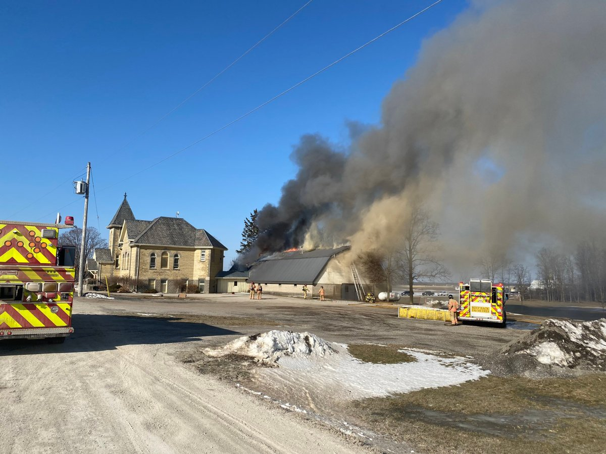 The cause and damage estimate for the fire has yet to be determined..