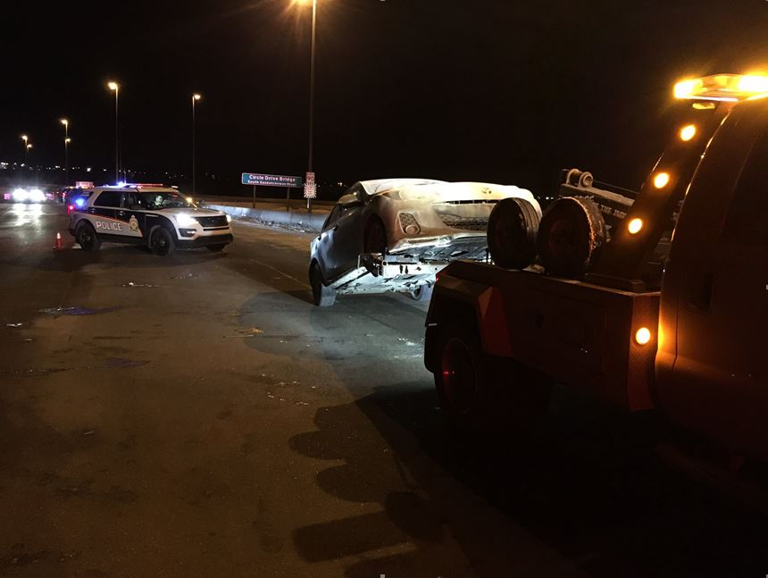 Saskatoon Police suspended the licences of eight drivers on Friday night during a traffic stop.