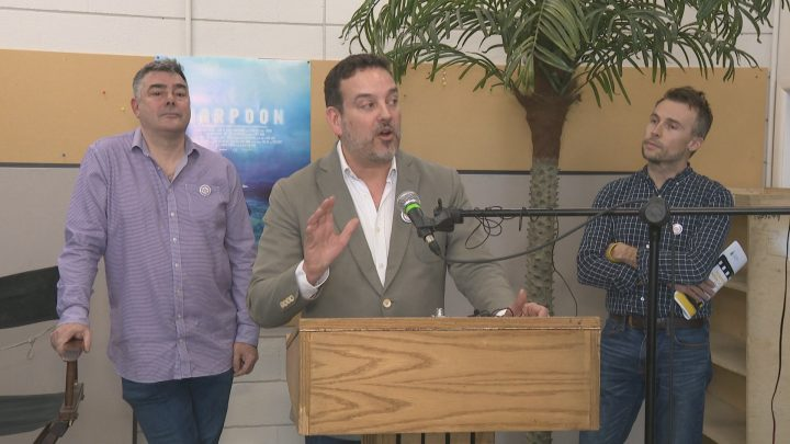 Alberta Federation of Labour president Gil McGowan calls for changes to Alberta's film tax credit.