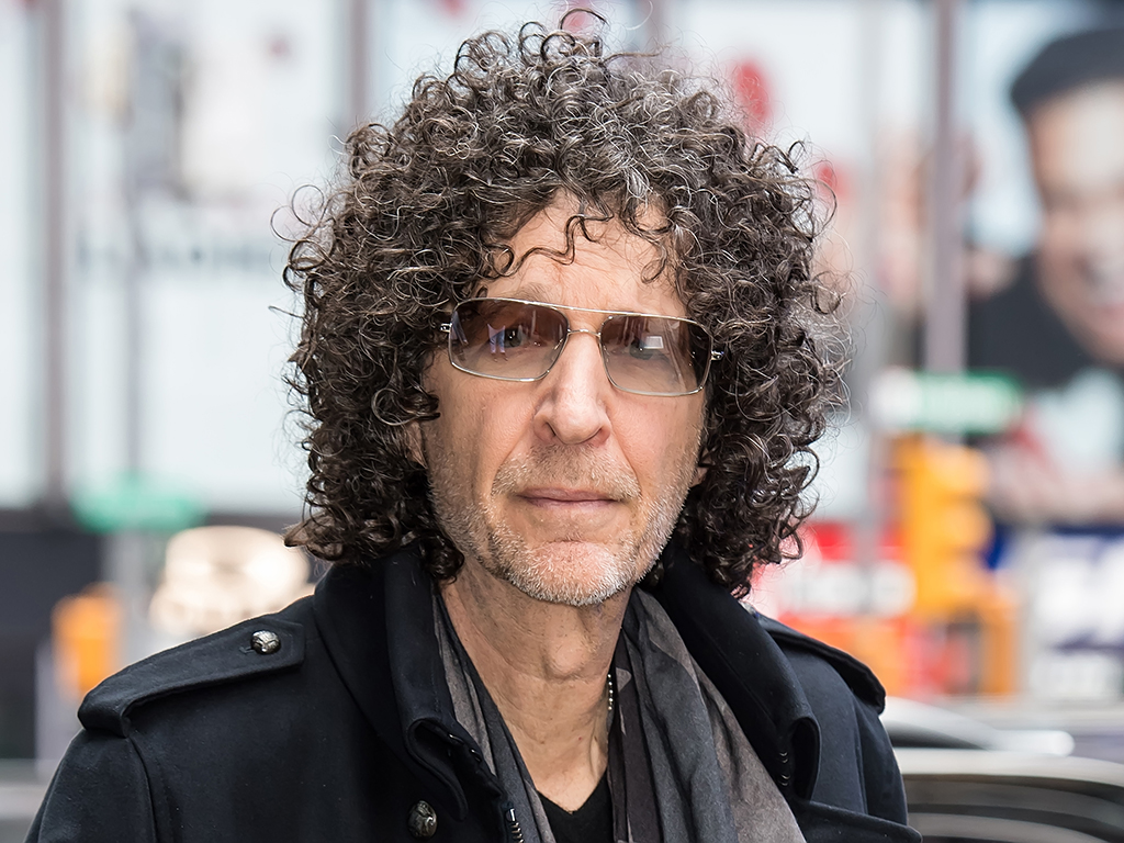Howard Stern is seen arriving to the ABC studio for 'Good Morning America'  on May 9, 2019 in New York City.