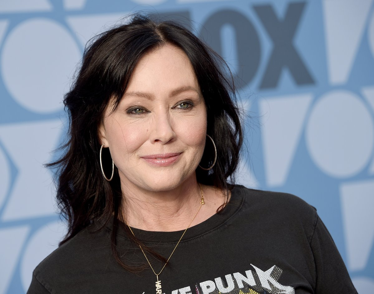 Shannen Doherty arrives at the FOX Summer TCA 2019 All-Star Party at Fox Studios on August 7, 2019 in Los Angeles, California.