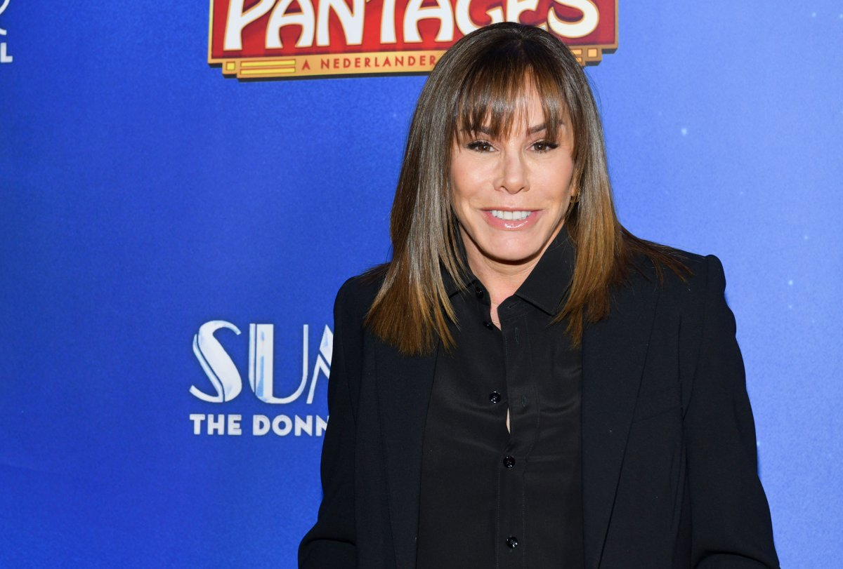 Melissa Rivers attends the Premiere of 'Summer: The Donna Summer Musical' At Hollywood Pantages Theatre at the Pantages Theatre on Nov. 6, 2019, in Hollywood, Calif.