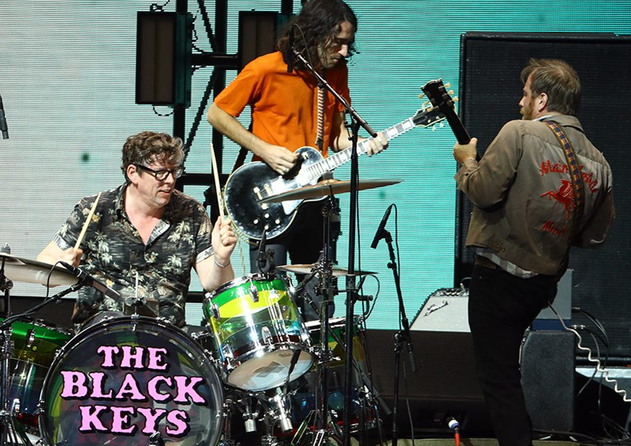 (L-R) Patrick Carney and Dan Auerbach of The Black Keys perform onstage at the 2020 iHeartRadio Alter Ego at The Forum on Jan. 18, 2020 in Inglewood, Calif.