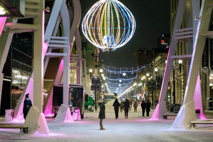 A file shot of the 2020 GLOW Winter Festival.