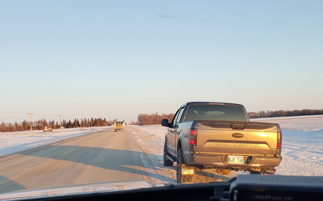 RCMP pulled over this driver going 72 kilometres per hour over the limit.