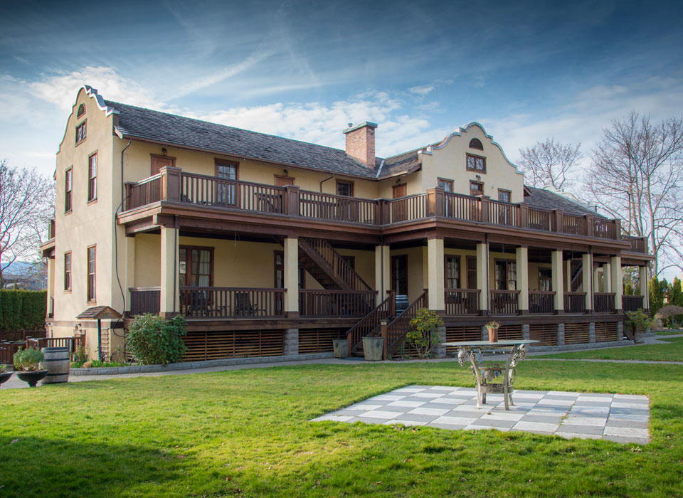 The historic Naramata Heritage Inn is under new ownership, composed of four of B.C.'s hospitality experts.