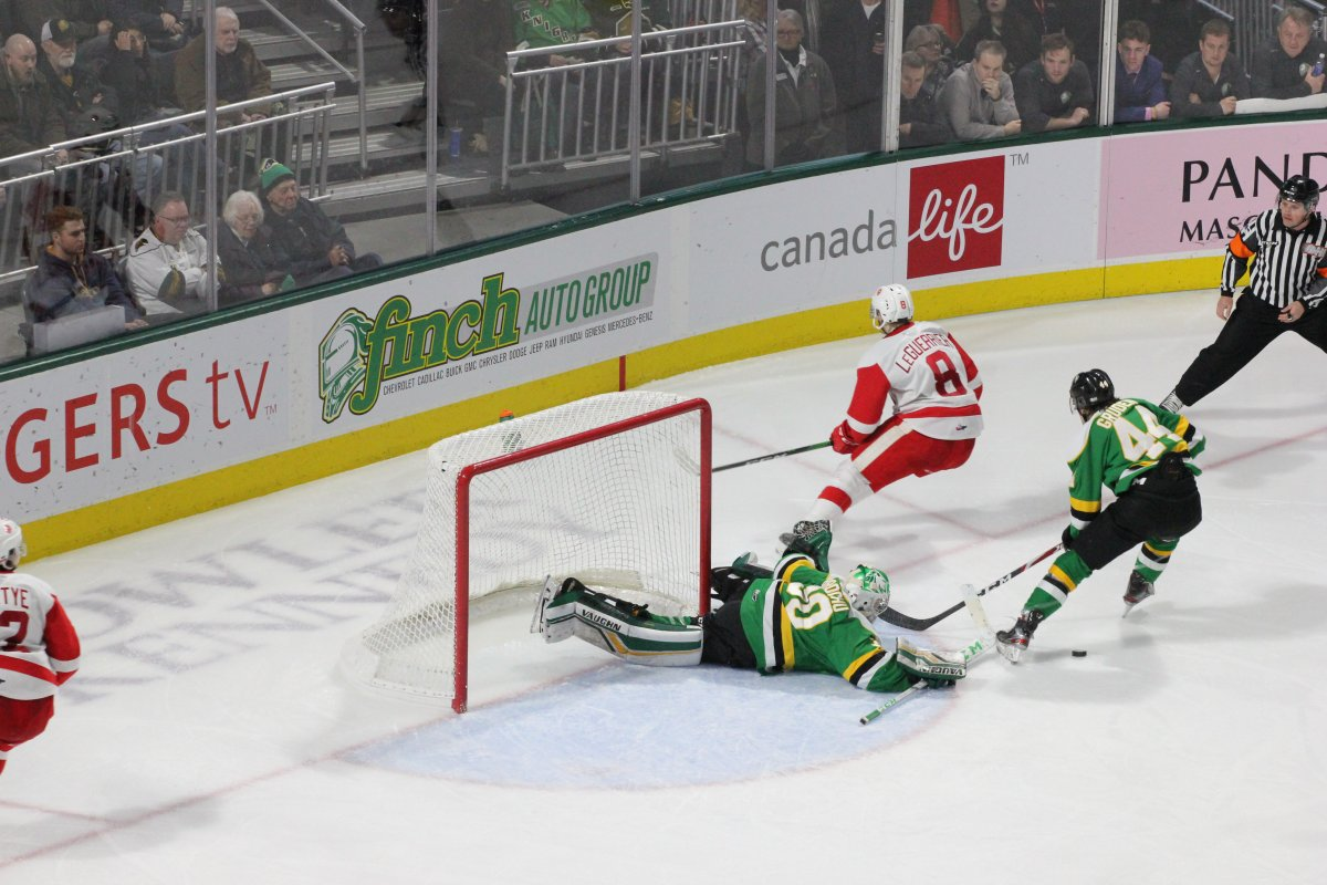 London Knights knock off Greyhounds to stay atop the Western Conference - image