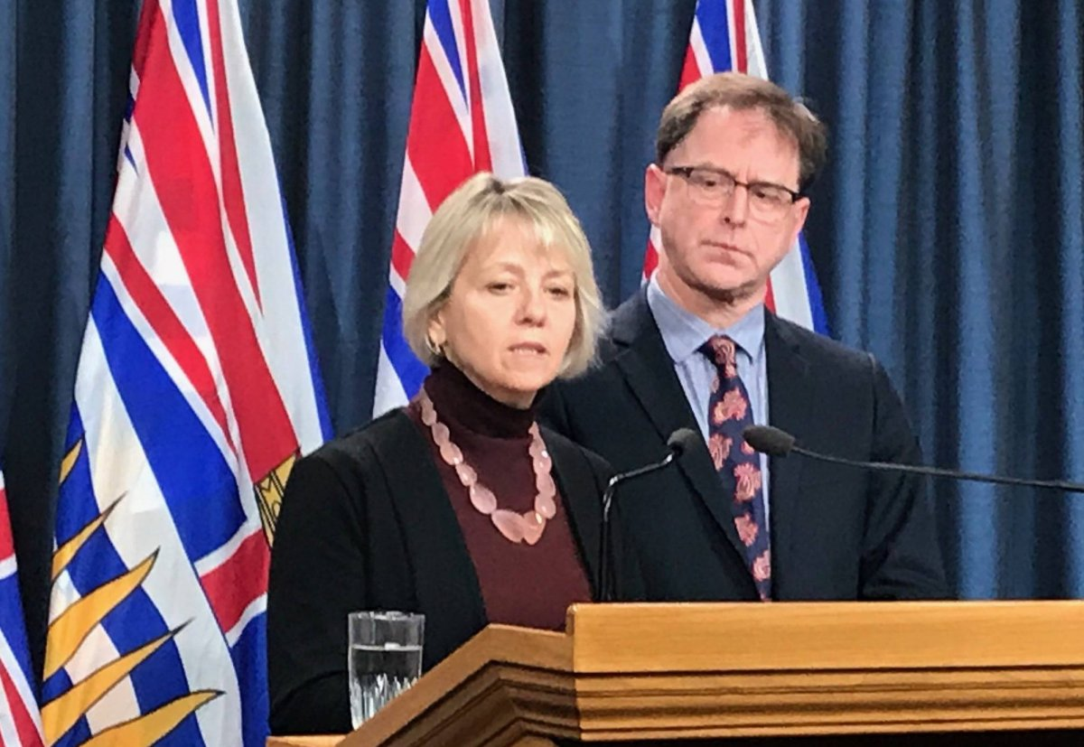 Dr. Bonnie Henry and Health Minister Adrian Dix announce sixth confirmed case of COVID-19.