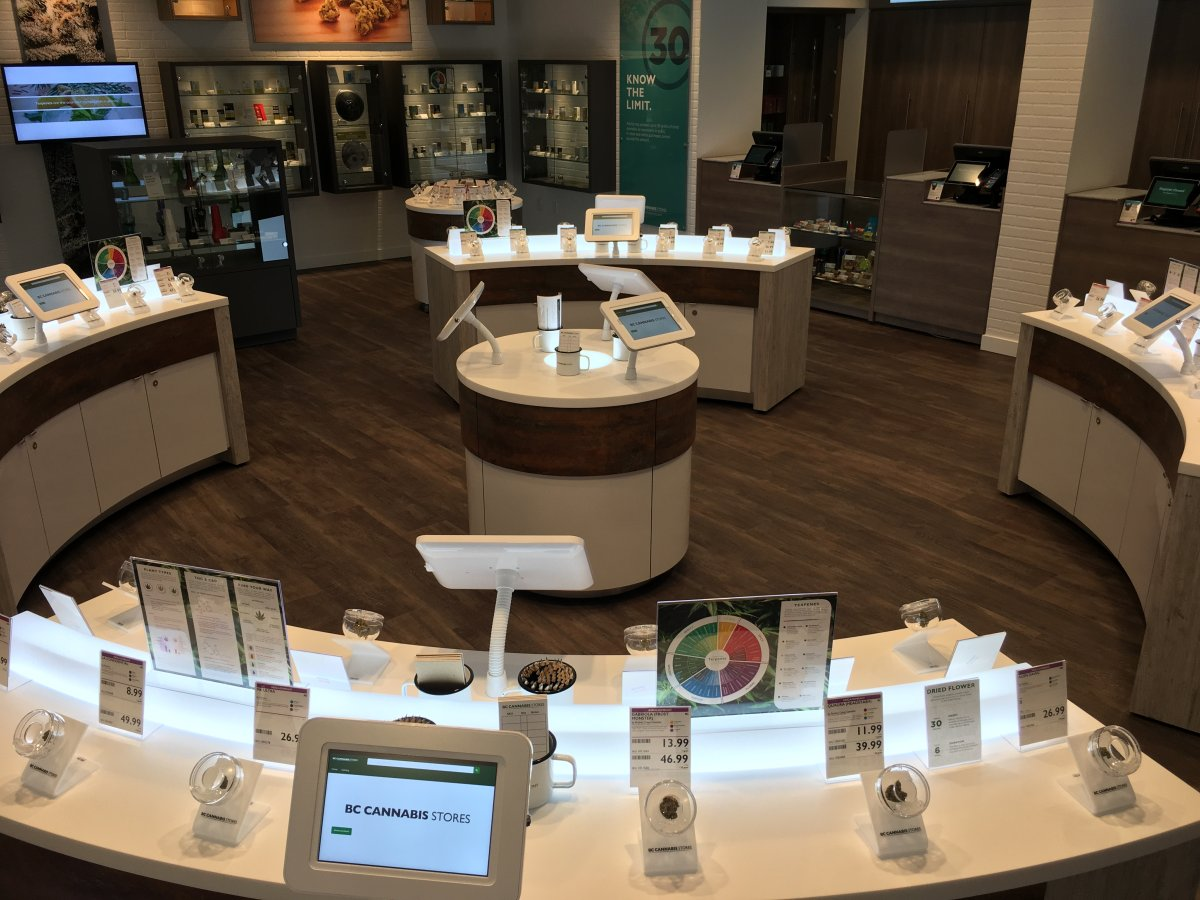 BC Cannabis Stores opened its latest store in Penticton on Wednesday, February 5, 2020.