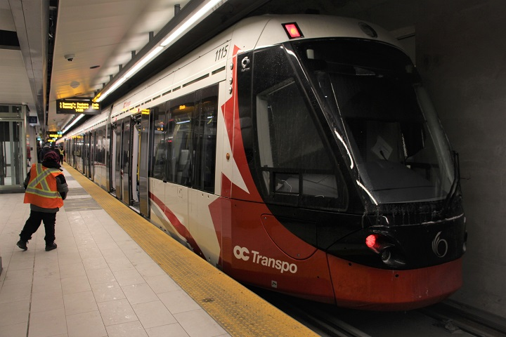 Portions of the light-rail transit system in Ottawa will be shut down on the next two Sundays for maintenance work.