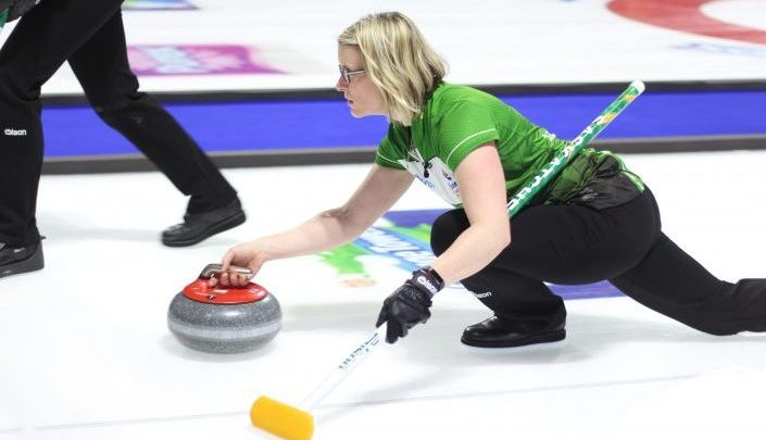 Team Saskatchewan has officially been eliminated after losing 9-4 to Team Ontario at the Scotties in Moose Jaw on Friday.