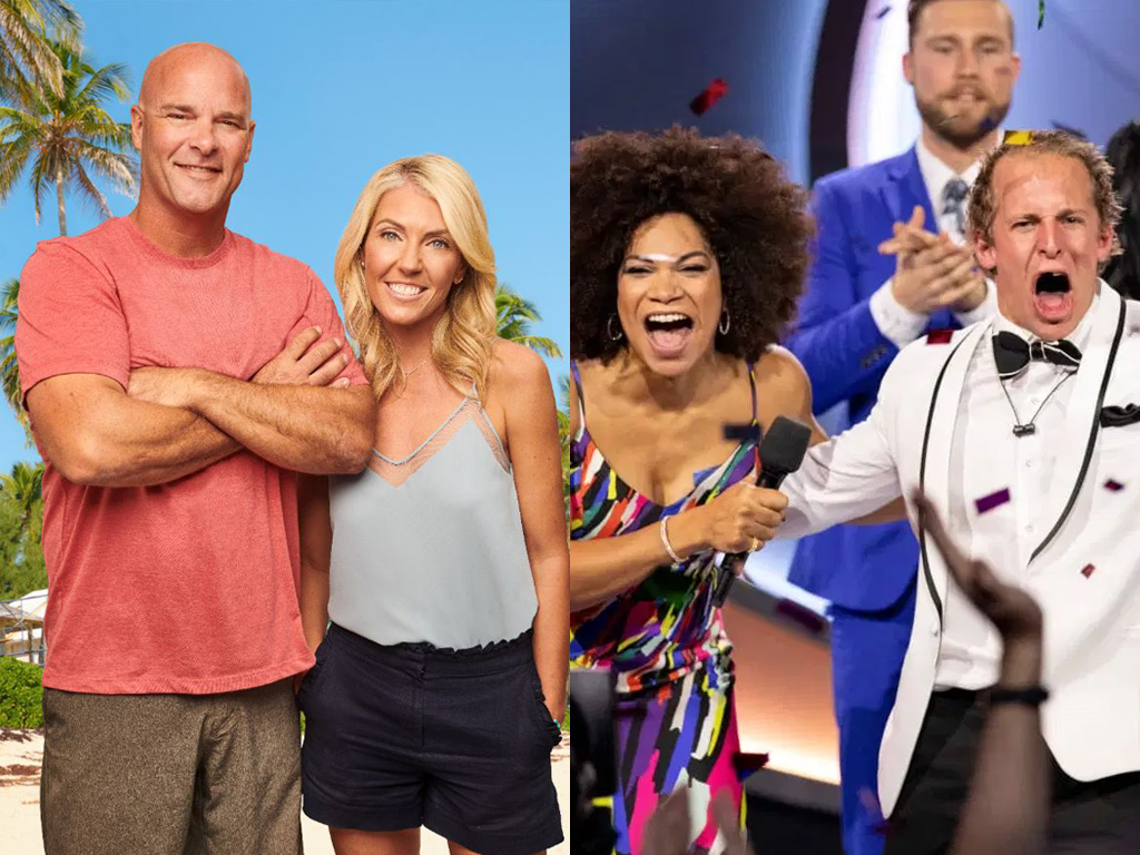 Global TV's 'Island of Bryan' and 'Big Brother Canada.' Both were nominated for the 2020 Canadian Screen Awards.