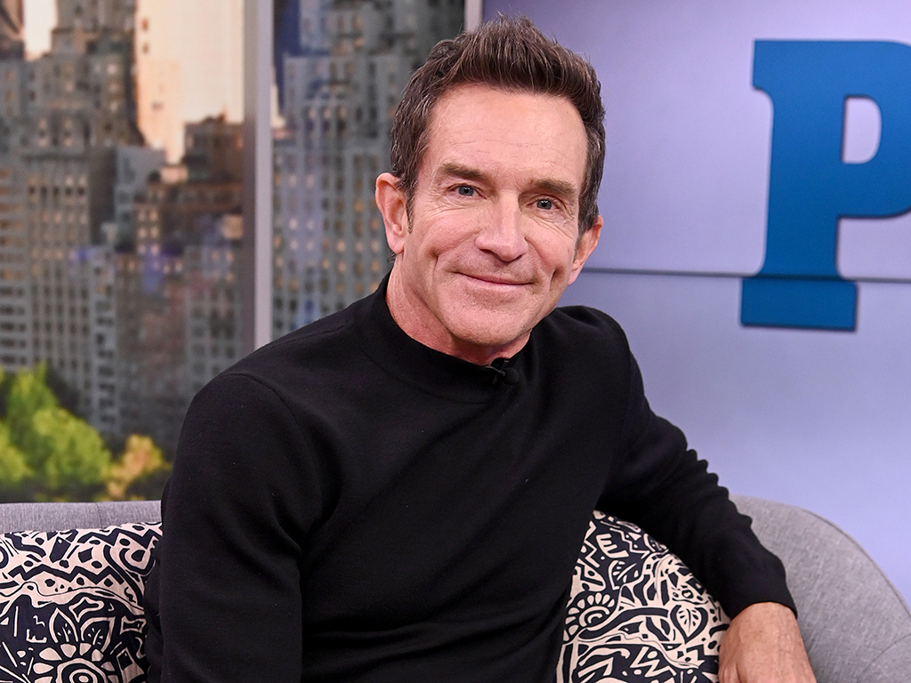 Jeff Probst visits People Now on Feb. 3, 2020 in New York City.