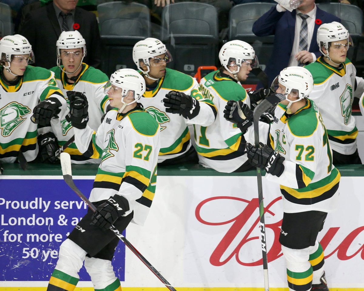 Five London Knights recognized with OHL team honours - image