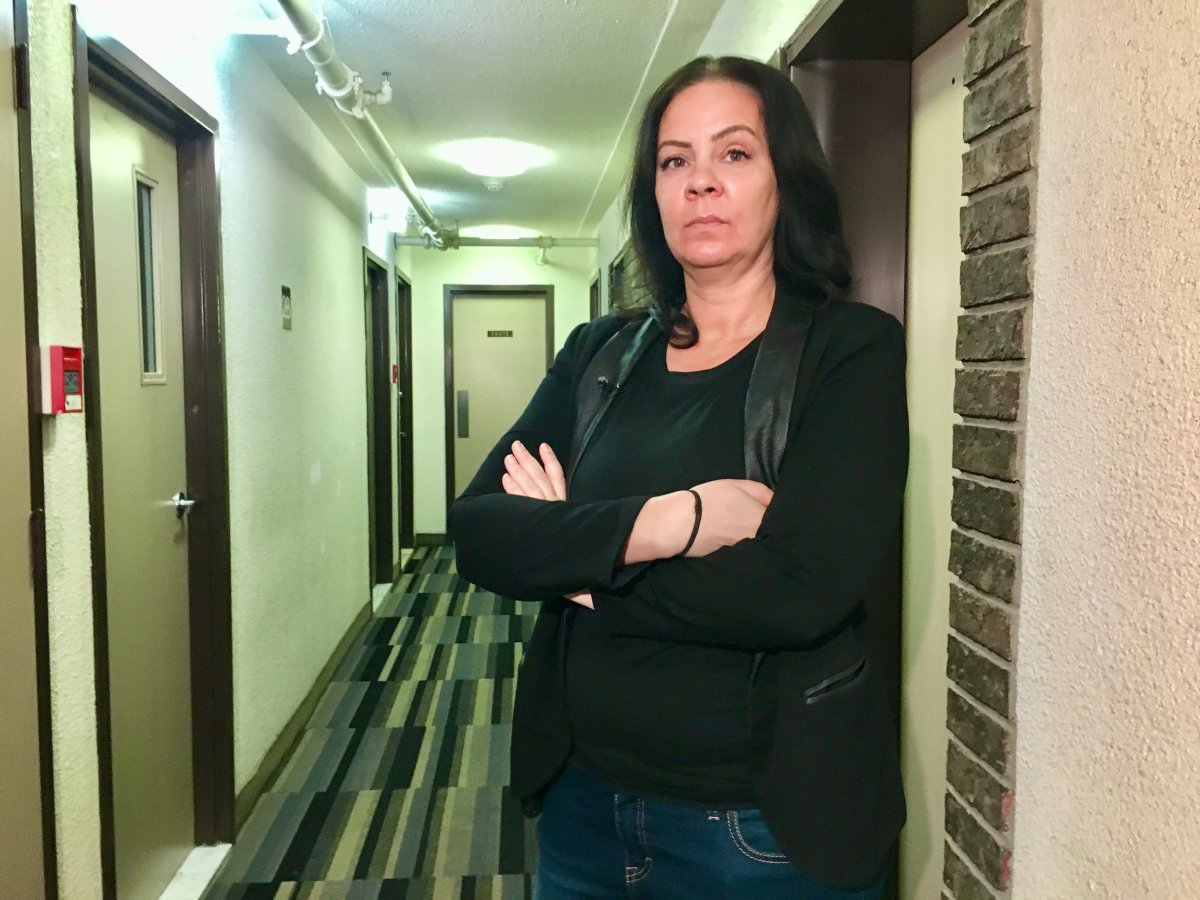 Manon Wascher  is outraged that her downtown apartment building is now home to up to 50 Airbnb rental units. Tuesday, Feb. 11, 2020.
