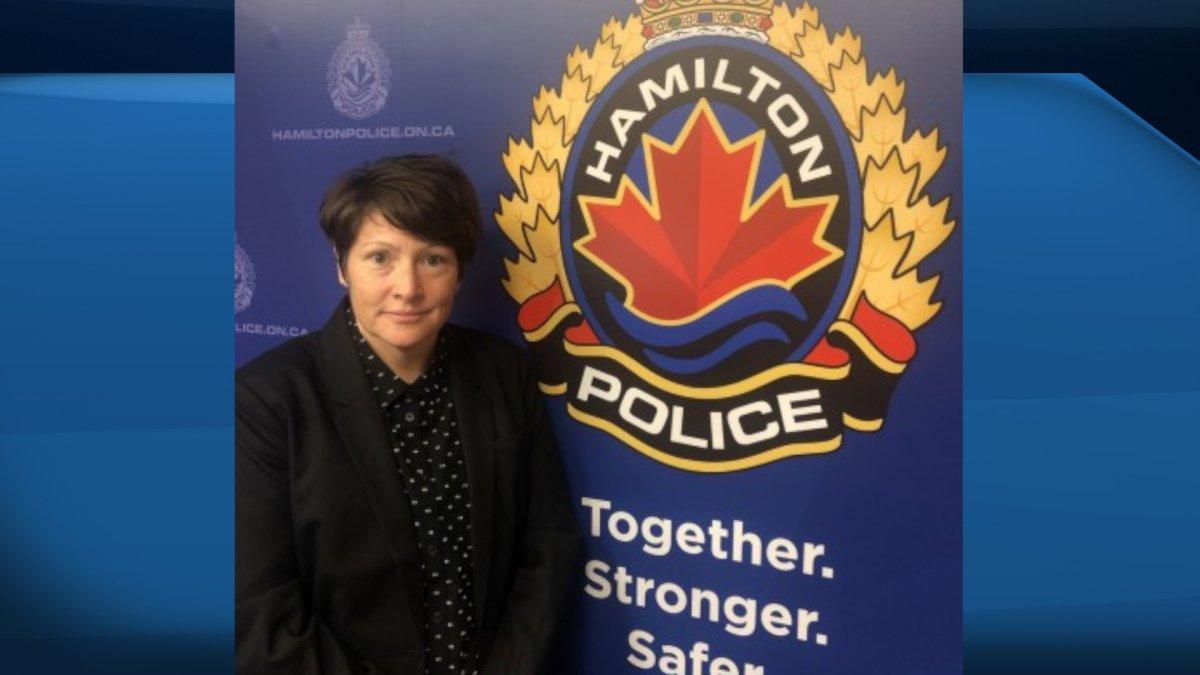 Det. Const. Rebecca Moran is Hamilton police's new LGBTQ2 community liaison officer.