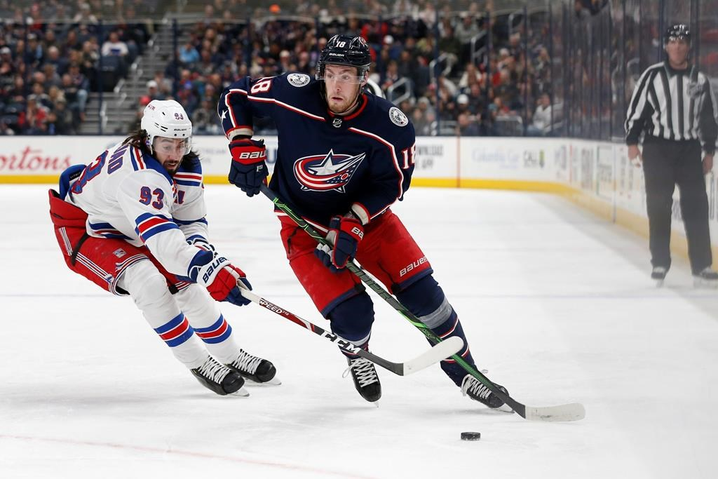 After getting the change of scenery he desired, hockey is the only thing on Pierre-Luc Dubois' mind as he prepares to join the Winnipeg Jets.