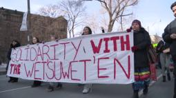 Continue reading: Demonstrators descend on downtown Toronto for Wet'suwet'en solidarity protest