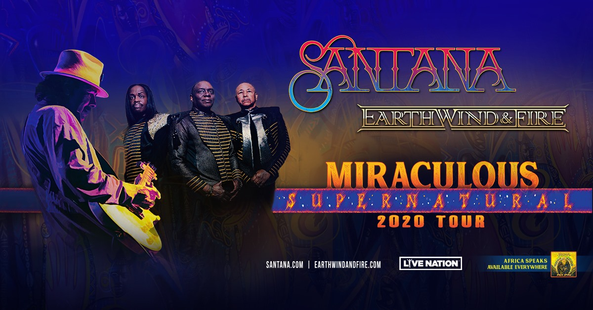 Santana & Earth, Wind and Fire **RESCHEDULED** - image