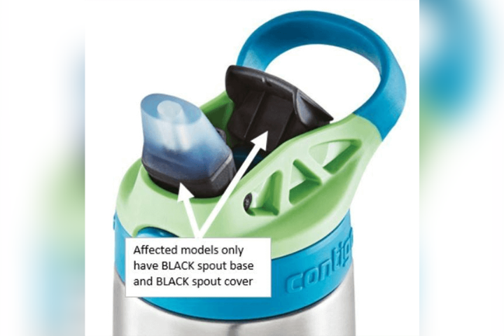 Contigo issued a recall over its Kids Cleanable Water Bottle Feb. 19, 2020 over a potential choking hazard.