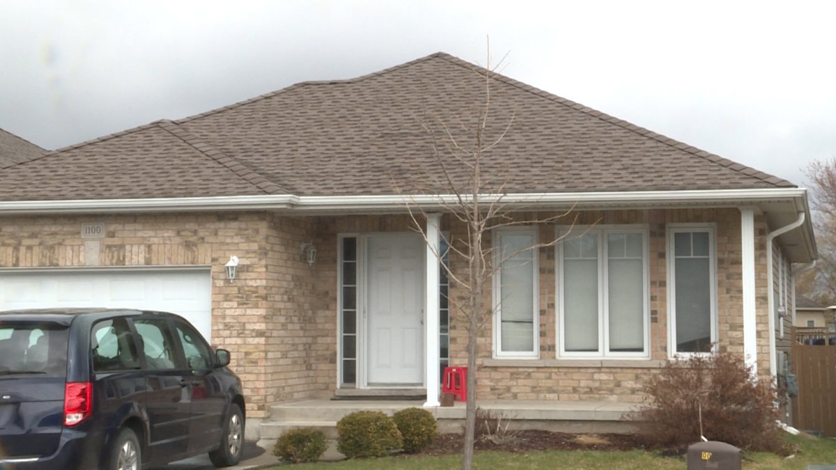 One of three houses on Crossfield Ave which were inspected by Kingston Fire and Rescue last summer.