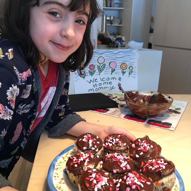 Montreal baking extraordinaire Kate Gilbert is hosting online bake-alongs. One of her followers posted a picture with the results. Thursday March 19, 2020.