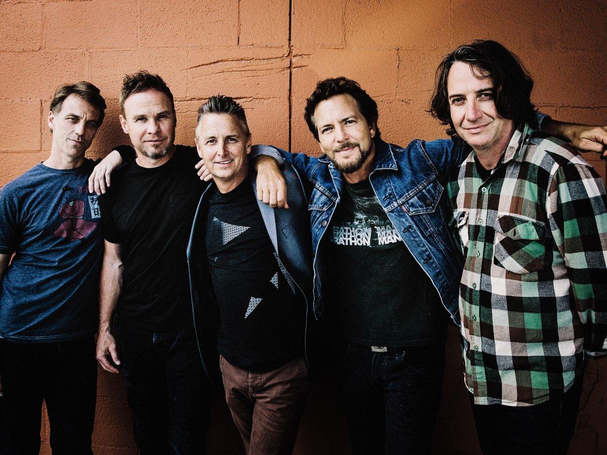 Pearl Jam, 2020.