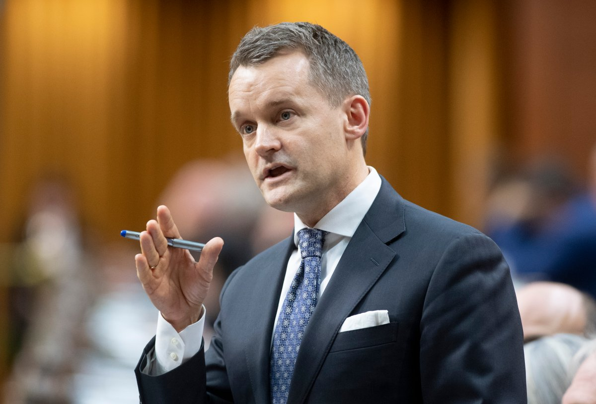Natural Resources Minister Seamus O'Regan responds to a question during Question Period in the House of Commons Monday February 17, 2020 in Ottawa.