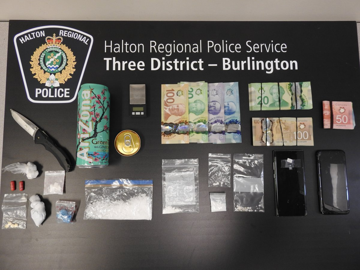 A large drug bust led to three arrests in Burlington.