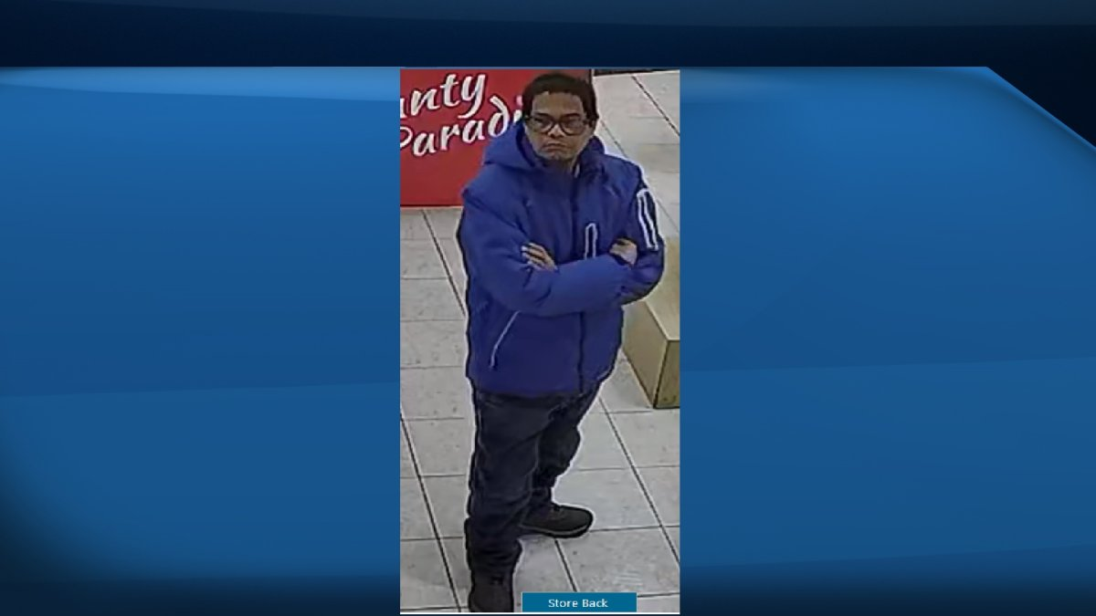 Belleville police are looking for this man, who they allege sexually assaulted a woman at a convenience store.