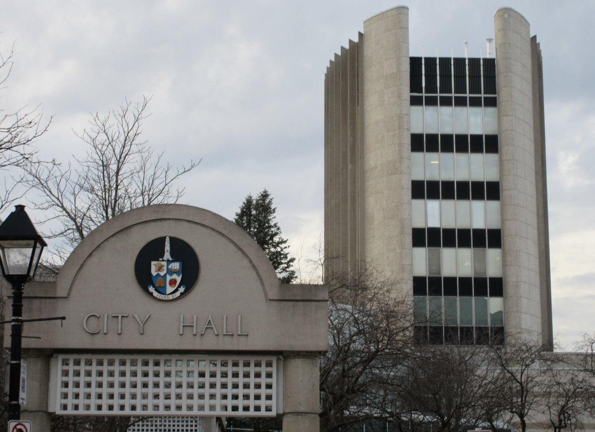 File photo - City Hall in Burlington.